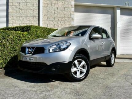 2012 Nissan Dualis J10W Series 3 MY12 ST Hatch 2WD Silver 6 Speed Manual Hatchback