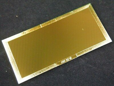 Shade 10 Gold Welding Filter Plate - 2 X 4.25 - Polycarbonate Lens For Helmet