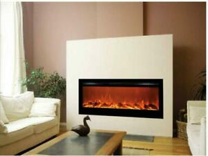 50  Insert Fireplace - ELECTRIC - Front HEAT Multi Colour