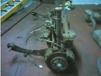 Ford focus rear axle, front struts and gearbox (I will not give stuff away)