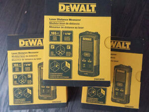 Brand new Dewalt 165' Laser distance measure DW03050
