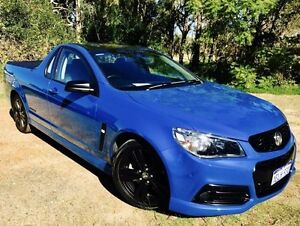 2014 Holden Ute VF SS Storm Perfect Blue 6 Speed Manual Utility Beckenham Gosnells Area Preview