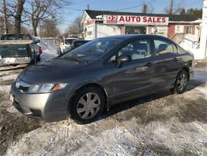 2010 Honda Civic Certified/Automatic/Gas Saver/Low KM