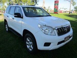 2010 Toyota Landcruiser Prado KDJ150R GX White 6 Speed Manual Wagon Hidden Valley Darwin City Preview