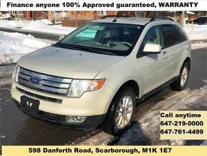 2007 Ford Edge SE FINANCE 100% APPROVED WARRANTY (152145 km)