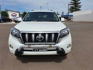2013 Toyota Landcruiser Prado KDJ150R Kakadu White Sports Automatic Wagon Whyalla Whyalla Area Preview