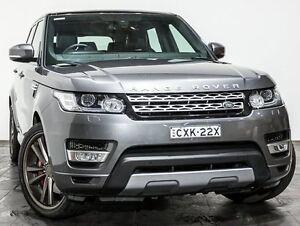 2014 Land Rover Range Rover Sport L494 15.5MY SDV6 CommandShift HSE Grey 8 Speed Sports Automatic Rozelle Leichhardt Area Preview