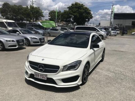 2016 Mercedes-Benz CLA200 117 MY16 White 7 Speed Automatic Coupe Coopers Plains Brisbane South West Preview