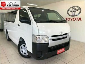 2015 Toyota HiAce KDH201R MY15 LWB French Vanilla 4 Speed Automatic Van Bungalow Cairns City Preview
