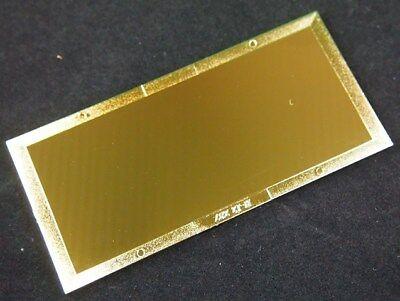 Shade 9 Gold Welding Filter Plate - 2 X 4.25 - Polycarbonate Lens For Helmet