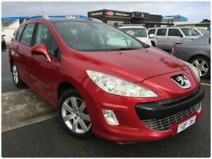2011 Peugeot 308 T7 XSE Turbo Red 6 Speed Sports Automatic Hatchback Cheltenham Kingston Area Preview