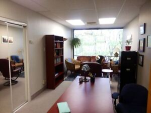 FOR RENT: PSYCHOLOGIST or THERAPIST OFFICE