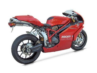 Ducati 749 / 999 Double Seats Zard Full Exhaust System Steel Racing 50mm Motogp