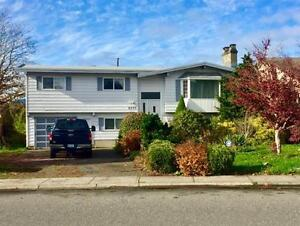 A full house to rent in Chilliwack with a beautifully landscaped