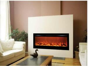 "50 "" Insert Fireplace - ELECTRIC - Front HEAT Multi Colour"