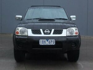 2014 Nissan Navara D22 S5 ST-R Black 5 Speed Manual Utility Berwick Casey Area Preview