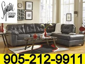Winter Clearance sale Ashley Sectional sofas from $599. Floor models up to 50% off