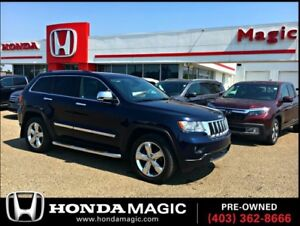 2012 Jeep Grand Cherokee Overland | LEATHER | HEATED & A/C SEATS