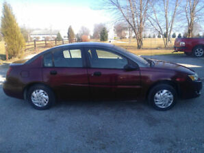 2003 Saturn ion saftied and etested low km