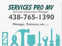 Services Pro MV entretien Menager