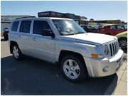 2010 Jeep Patriot MK MY2010 Sport Silver 5 Speed Manual Wagon Cheltenham Kingston Area Preview