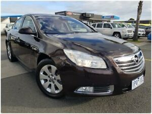 2012 Opel Insignia IN Select Brown 6 Speed Sports Automatic Sedan Cheltenham Kingston Area Preview