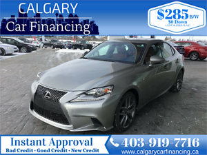 2016 Lexus IS 300 F Sport Pkg, AWD, No Accidents*