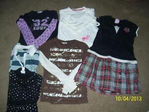 Girls clothing lot Size 14 tops skirt