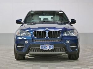 2011 BMW X5 E70 MY10 xDrive 30D Blue 8 Speed Automatic Sequential Wagon Jandakot Cockburn Area Preview