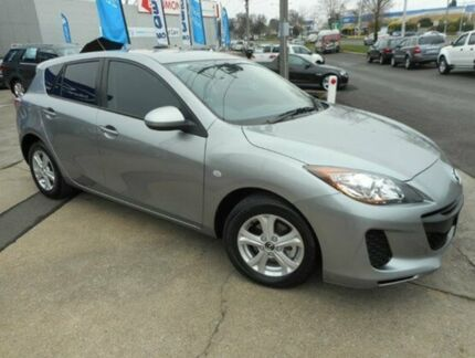2013 Mazda 3 BL10F2 MY13 Neo Aluminium 6 Speed Manual Hatchback Soldiers Hill Ballarat City Preview