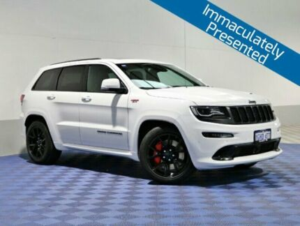 2016 Jeep Grand Cherokee WK MY16 SRT Night Edition White 8 Speed Automatic Wagon