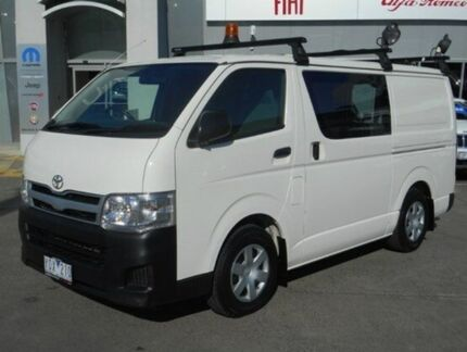 2011 Toyota Hiace KDH201R MY11 LWB White 4 Speed Automatic Van Hallam Casey Area Preview