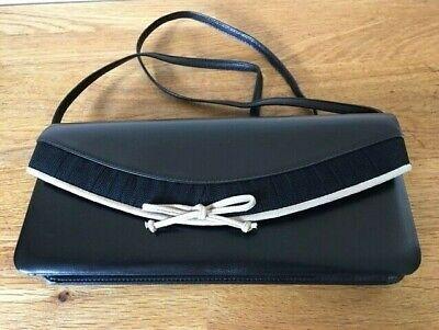 Jacques Vert Black Clutch Bag