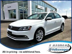 BRAND NEW 2017 Volkswagen Jetta Sedan Highline