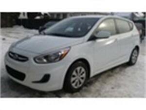 2016 Hyundai Accent SE AUTOMATIQUE 38 500 KM 8900 $