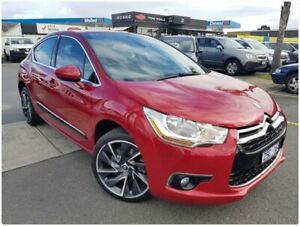 2013 Citroen DS4 F7 MY13 DSport THP 200 Red 6 Speed Manual Hatchback Cheltenham Kingston Area Preview