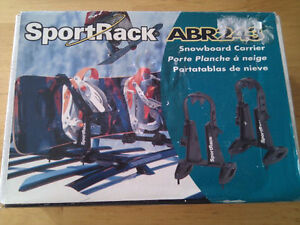 Brand New Sportrack ABR243 Snowboard Roof Rack Carrier