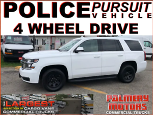 2015 CHEVROLET TAHOE POLICE PPV EDITION 4X4