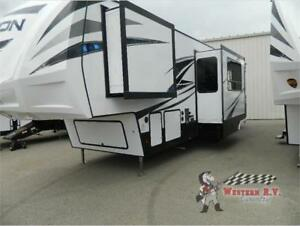 2019 VOLTAGE 3561 ONLY 64,990 WESTERN RV KYLE CALL NOW!!!!!!!