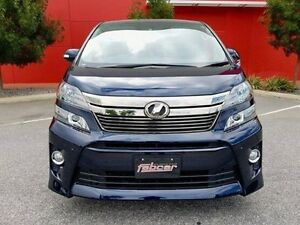 2013 Toyota Vellfire Blue Automatic Wagon Cannington Canning Area Preview