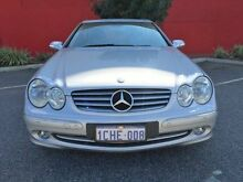 2003 Mercedes-Benz CLK320 C209 Elegance Silver 5 Speed Automatic Coupe Beckenham Gosnells Area Preview