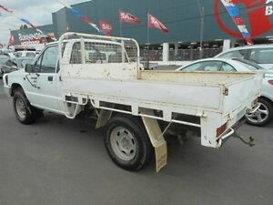 1996 Mitsubishi Triton MJ STD (4x4) White 5 Speed Manual 4x4 Cab Chassis Kingsville Maribyrnong Area Preview