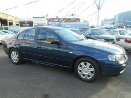 2005 Ford Falcon BA MkII XT Blue 4 Speed Auto Seq Sportshift Sedan West Footscray Maribyrnong Area Preview