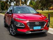 2018 Hyundai Kona OS MY18 Highlander D-CT AWD Pulse Red 7 Speed Sports Automatic Dual Clutch Wagon Mount Barker Mount Barker Area Preview
