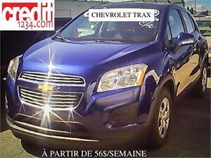 2014 Chevrolet Trax LS, À PARTIR DE 56$/SEMAINE 100% APPROUVÉ !