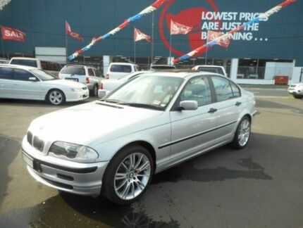 2001 BMW 318I E46 Executive Silver 4 Speed Auto Steptronic Sedan West Footscray Maribyrnong Area Preview