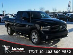 2015 Ram 1500 Sport 4WD Quad Cab w/Heated & Ventilated Leather