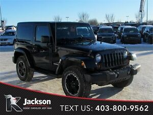2012 Jeep Wrangler Altitude 4wd - Heated Leather Seats