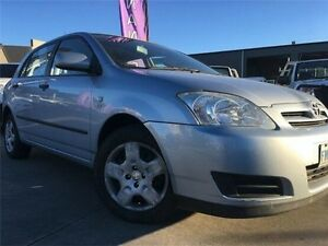 2006 Toyota Corolla ZZE122R 5Y Ascent Blue 4 Speed Automatic Hatchback Invermay Launceston Area Preview