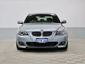 2006 BMW 550i E60 Grey 6 Speed Auto Steptronic Sedan